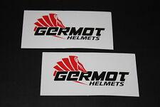 +055 Germot Bekleidung Leder Aufkleber Decal Sticker Autocollant Motorrad hoch