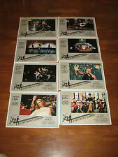 SET COMPLETO 8 FOTOBUSTE,All That Jazz,BOB FOSSE,Jessica Lange,Roy Scheider,
