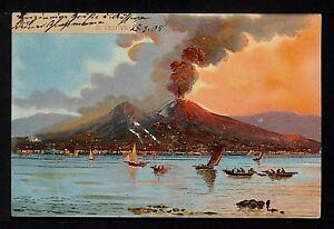 ITALY 893-NAPOLI - Il Vesuvio  (Inviato a Messico nel 1905)