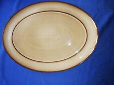 Denby Viceroy-Large oval platter