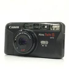 Canon PRIMA Twin S DATE Black Point & Shoot Film Camera EXC TK03C