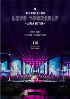 BTS LIVE Standard DVD  WORLD TOUR 'LOVE YOURSELF JAPAN EDITION
