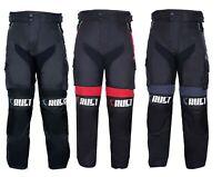 Crust Sports Motorbike Motorcycle Trousers Waterproof Cordura CE Armoured Pant