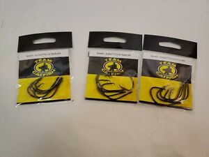 3 Team Catfish TC81Z Double Action Circle Hook 4/0 Black Nickel 5 Each Pack.