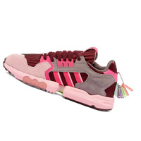 ADIDAS WOMENS Shoes ZX Torsion - Maroon, Ink & Pink - EF4372