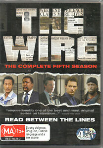 The Wire - The Complete Fifth Season 5 - NEW SEALED - DVD, 4 Disc