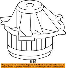 CHRYSLER OEM-Blower Motor 68238029AA