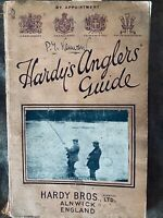 Hardy's London 1934 anglers guide catalogue with fly plates reels lures rods etc