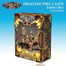 Dark Age Dragyri Fire Caste Ember Unit box set miniatures 32mm new