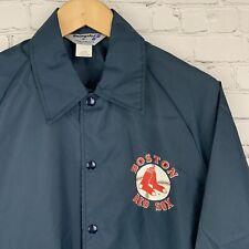 Men's NWT Boston Red Socks Vintage Swingster Nylon Button Front Baseball Jacket
