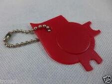 Tupperware scrape em all  key chain rare Red gadget  NEW