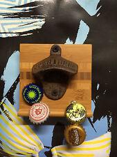 Bottle Opener with magnetic bottlecap catcher, beer opener