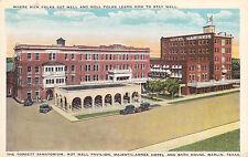 Marlin, TX - Torbett Sanatorium, Hot Well Pavilion, Majestic-Annex Hotel