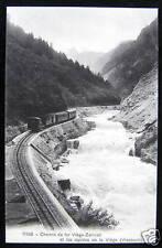 Switzerland~Chemin de fer Viege-Zermatt~Vispbach  TRAIN