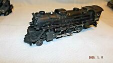 LIONEL POSTWAR 2037 STEAM LOCOMOTIVE WITH SMOKE / MAGNATRACTION AND 6066T TENDER