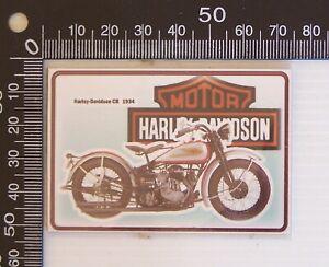 HARLEY DAVIDSON SOUVENIR VINYL FRIDGE MAGNET MOTORCYCLE PROMO FAN MERCHANDISE