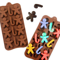 Christmas Chocolate Silicone Mould Cake Cookies Baking Jelly Ice Tray DIY Mold