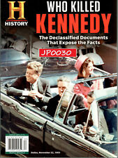 History Magazine 2018, Who Killed Kennedy, Brand New/Sealed