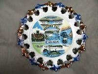 NIAGARA FALLS, Canada - Various Features - Decorative Collector Plate - vintage