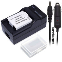 DMW-BCM13 Battery +Charger +Case for Panasonic DMW-BCM13PP BCM13E DE-A50 FT5 FS5