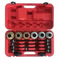 Universal Press and Pull Sleeve Remove Install Bushes Bearings Garage Tool Kit
