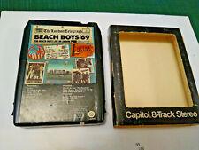 BEACH BOYS '69 Live In London 8 Track Tape Sleeve California  Girls Beatles Surf