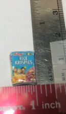 dollhouse miniatures 1:24 NOS Hudson River Rice Krispies Cereal