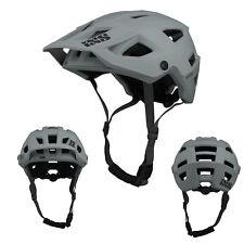 2021 iXS Trigger AM Grau All Mountain Fahrrad Helm Helmet Bike Trail MTB BMX