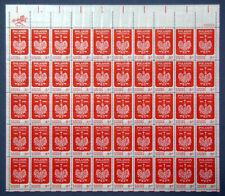 "US Stamps 1966 Mint Sheet 5 cent ""Poland's Millennium"" Jul 30th MNH SC# 1313"