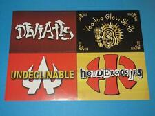 Deviates, Voodoo Glow Skulls, Undeclinable, Heideroosjes - Promo Sticker