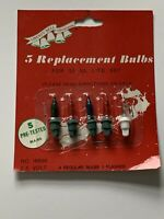 2.5V 4 regular 1 flash in Replacement Light Bulbs for Push - in sets Vintage