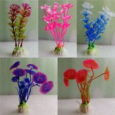 10 Pcs Mixed Styles Underwater Artificial Plants Aquarium Decoration Water Weeds
