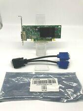 128MB PCI-E Video Card, CN-0H3823-69702, P/N 102A2590401, 8960 W/Dual Mon Cable