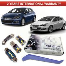 Opel Astra J LED Interior Premium Kit Error Free White Xenon Canbus Vauxhall