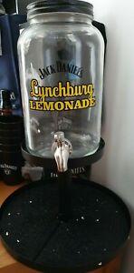 NEW Official Jack Daniel's Lynchburg Lemonade Cocktail Fountain Cooler