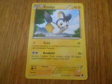 Carte Pokémon Commune Emolga 70 PV 32/98 (Pouvoirs emergents)