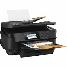 "Epson Printer Wide-Format Inkjet 35-Page ADF 4.3""Touch Screen BK C11CG36201"