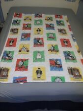 "RARE VINTAGE 1992 THOMAS & FRIENDS  54"" X 40"" DUVET BEDDING COVER THE BIBB CO."
