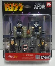 K'Nex KISS mini figure set with mini stage