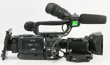 JVC HD Video Camera GY-HD100 HDV FUJINON TH16x5.5BRMU Lens,V mount battery adapt
