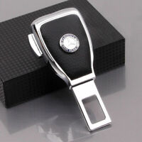 1Pc Car Seat Belt Buckle Extension Extender Clip Alarm Stopper Fit For Benz