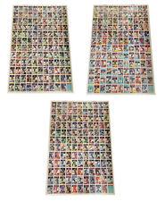 1984-85 OPC O-Pee-Chee Uncut Hockey Sheet Set (3 Sheets) Yzerman