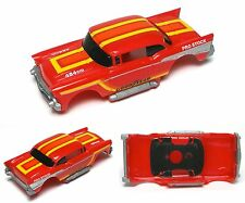 1989 TYCO 1957 Chevy Hardtop 454 Pro Stock Slot Car BODY Only 8991G no HoodScoop