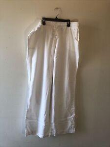 "Cato Womens Pants Size 18/20 Waist-38"" White NWT"