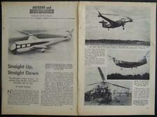 1946 vintage HELICOPTER & AUTOGIRO History pictorial