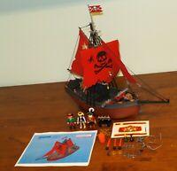 Playmobil 3900 - Pirates Barco Corsiar Ship w/ Red Sails