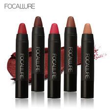 12 Colors FOCALLURE Matte Lipstick Pen Waterproof Lasting Lip Gloss Cosmetic New