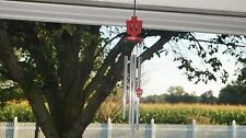 COLLECTIBLE INDIANA UNIVERSITY IU HOOSIERS DECOR WIND CHIMES -MINT NEW IN BOX