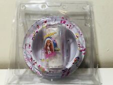 Vintage Barbie Baywatch 3-Piece Dinner Ware Set Cup Bowl Plate Collectible