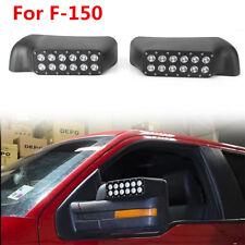 Car Mirror w/Turn Signal LED Light for Ford F-150 Raptor Pickup Trucks 2009-2014